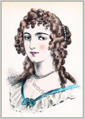 Coiffure femmes 19ème siècle