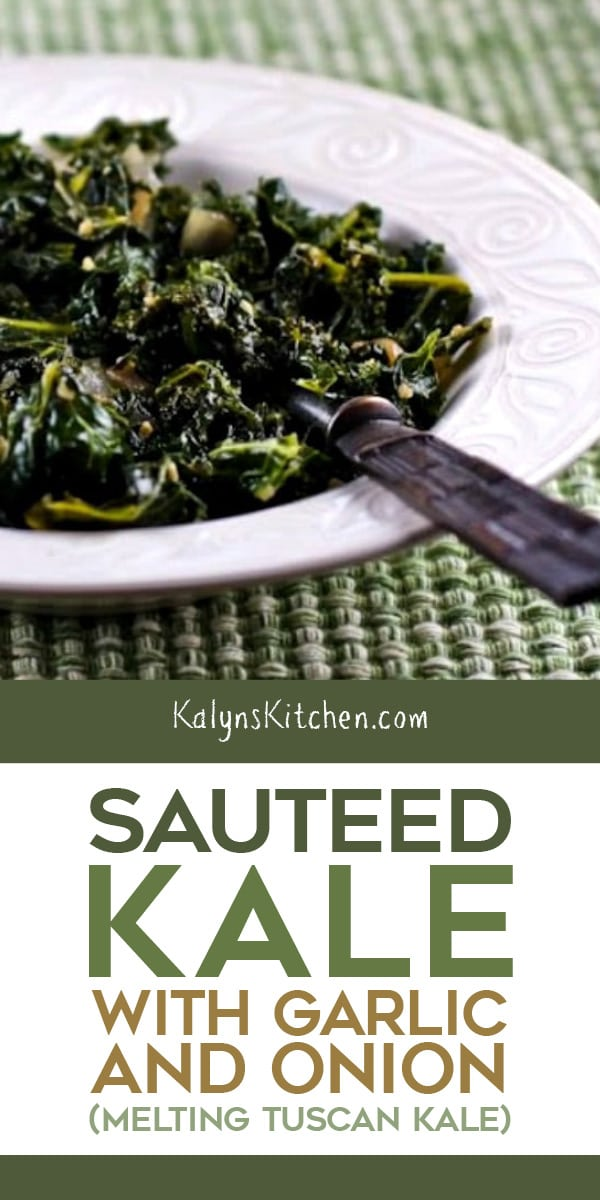 Sauteed Kale with Garlic and Onion – Kalyn's Kitch