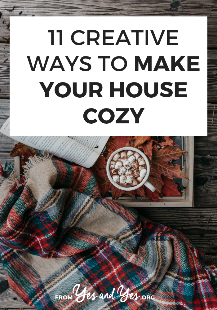 Want to make your house cozy this winter? Looking for winter decor tips? Look no further! Click through for cozy warming fun ways to make your house a snuggle palace this winter! >> yesandyes.org #style #shopping #styles #outfit #pretty #girl #girls #beauty #beautiful #me #cute #stylish #photooftheday #swag #dress #shoes #diy #design #fashion #homedecor