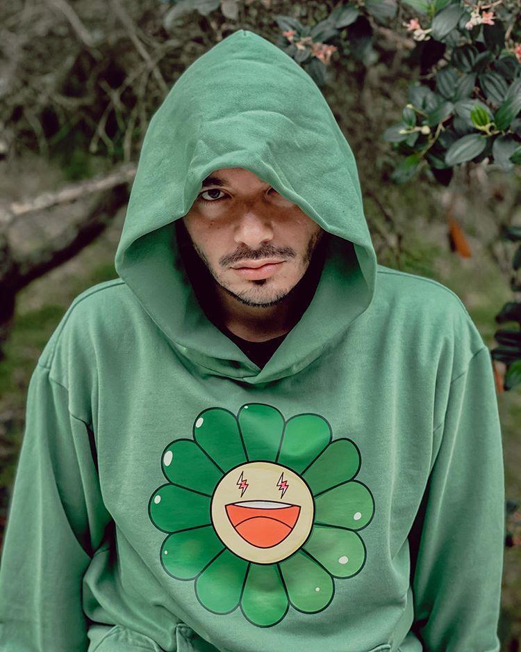 J Balvin Sur Instagram Jose In 2020 Hoodies Flower Hoodie Graphic Sweatshirt