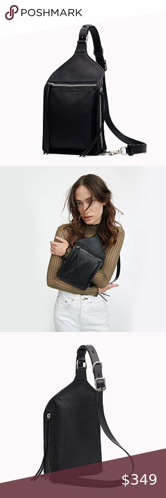 Elliot Sling Pack - Leather  Medium Crossbody Bag