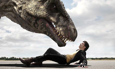 Connor Temple comes face to face with a terrifying g-rex.
