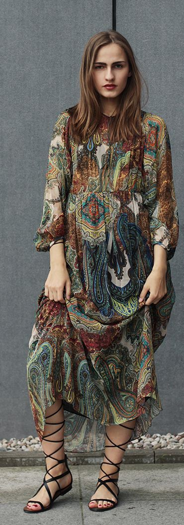 Maxi Boho Dress Styling