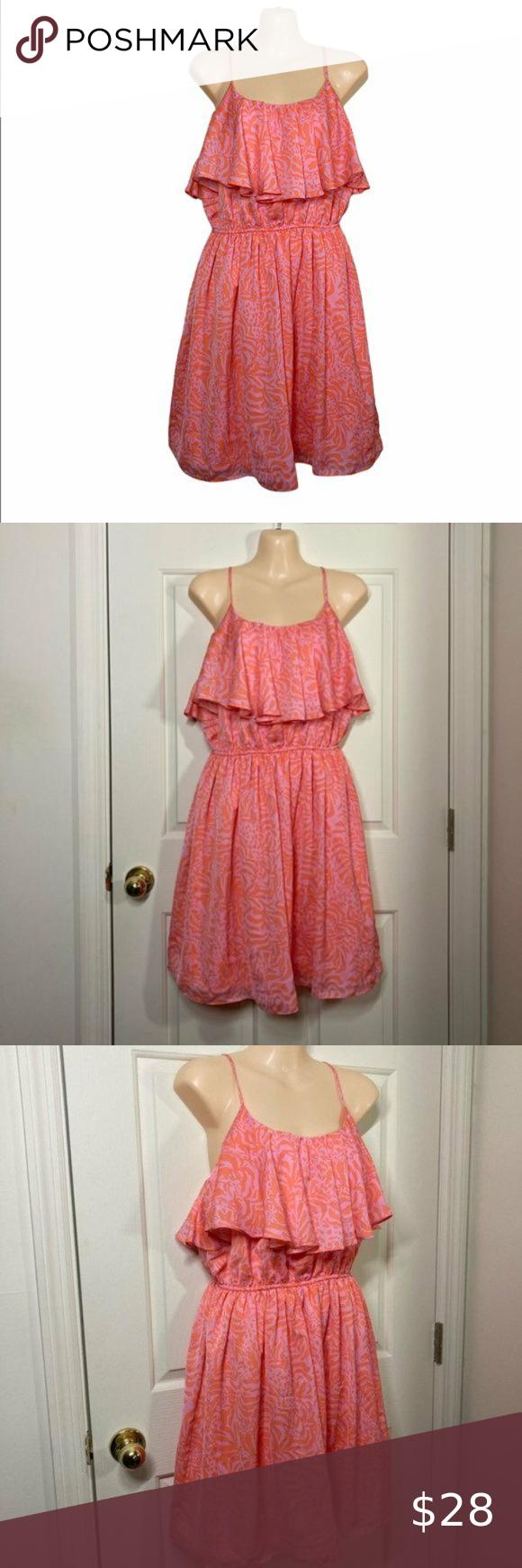 Lilly Pulitzer For Target Pink Orange Dress In 2020 Clothes Design Orange Dress Dresses [ 1740 x 580 Pixel ]