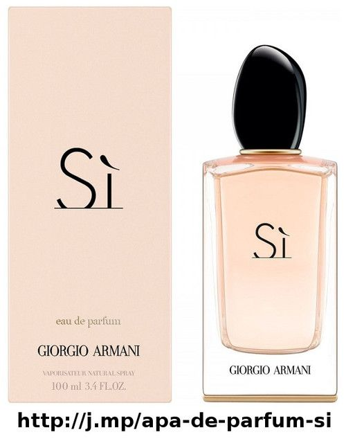 Apa De Parfum Si 100 Ml Pentru Femei Giorgio Armani