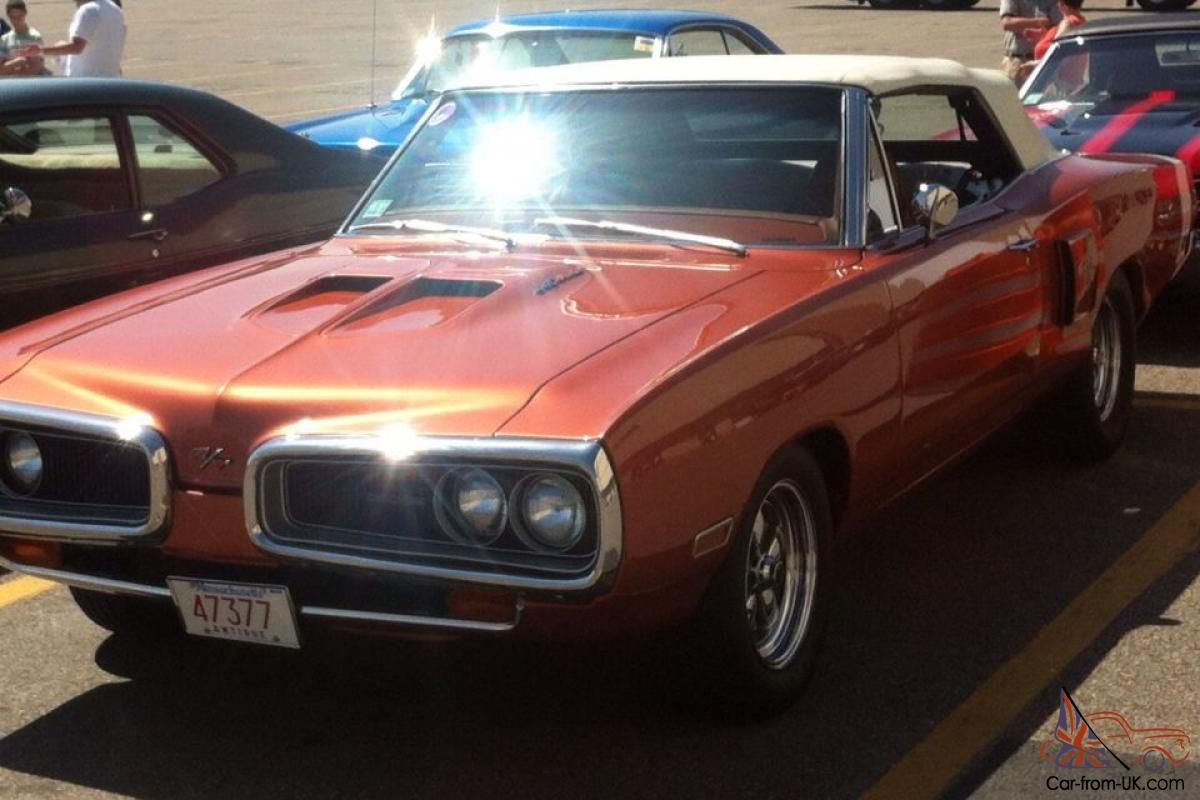 small resolution of burnt orange k5 70 coronet r t convertible wearing a set of american racing 200s wheels