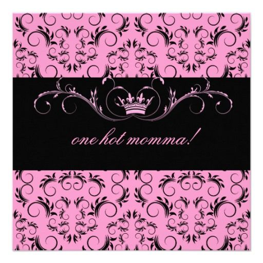311 night divine pink baby shower invitation pinterest babies 311 night divine pink baby shower custom invite stopboris Images