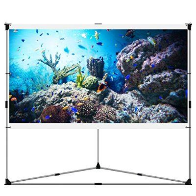 Robot Check Outdoor Movie Screen Outdoor Projection Screen Home Projector Screen