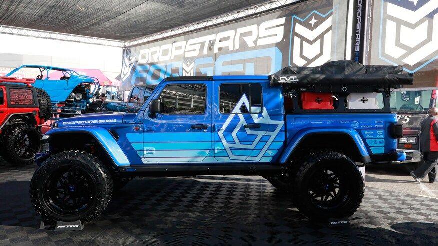 Mega Gallery The Custom Jeep Gladiator Jt Builds Of Sema 2019 In 2020 Jeep Gladiator Jeep Gladiator