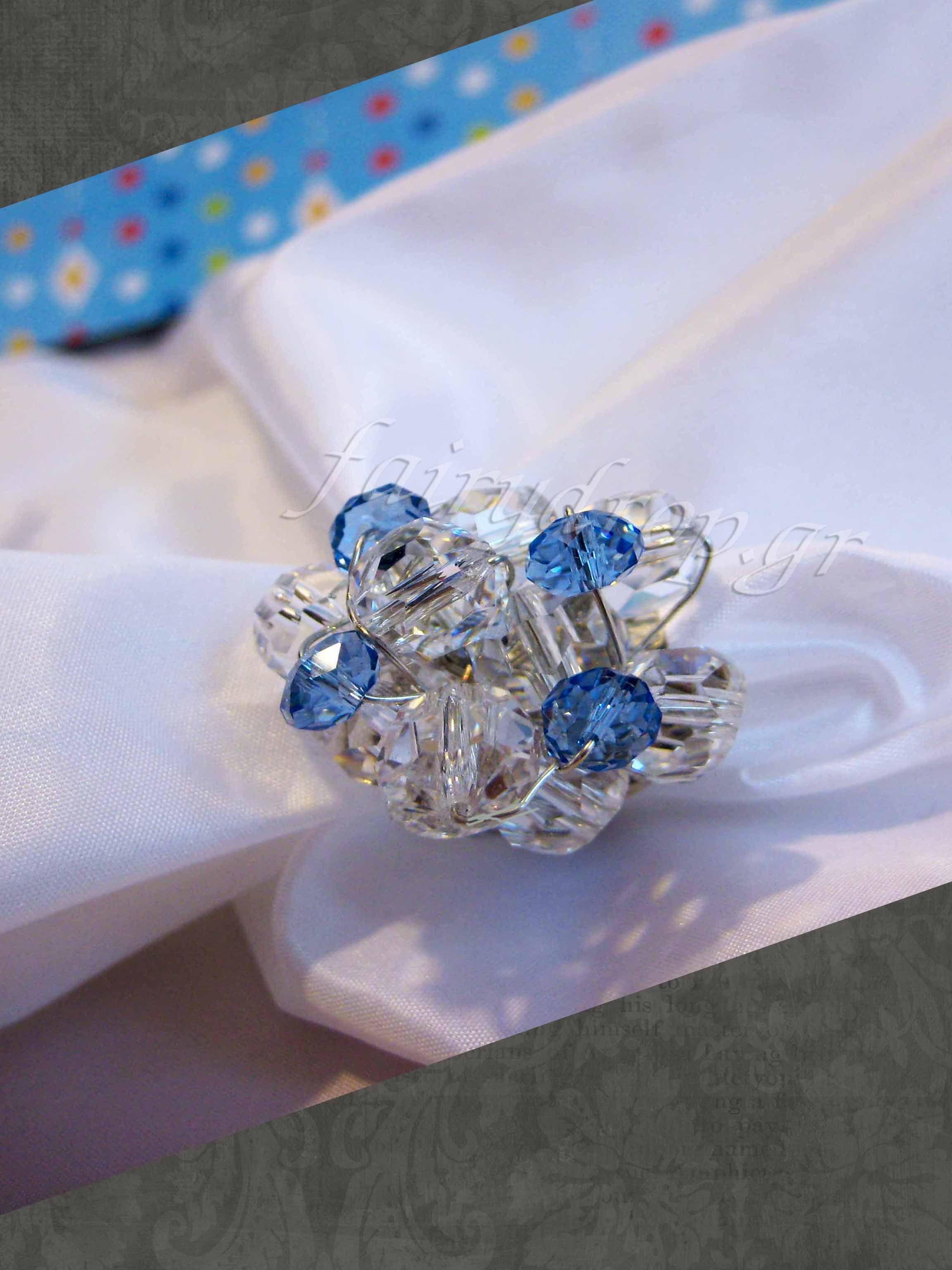 Swarovski & Czech crystal ring