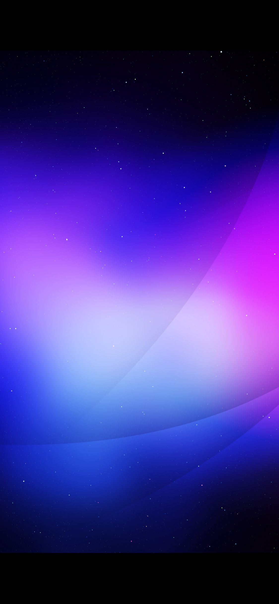 A Starry Night With Blue And Purple Best Iphone Wallpapers Graphic Wallpaper Black Wallpaper