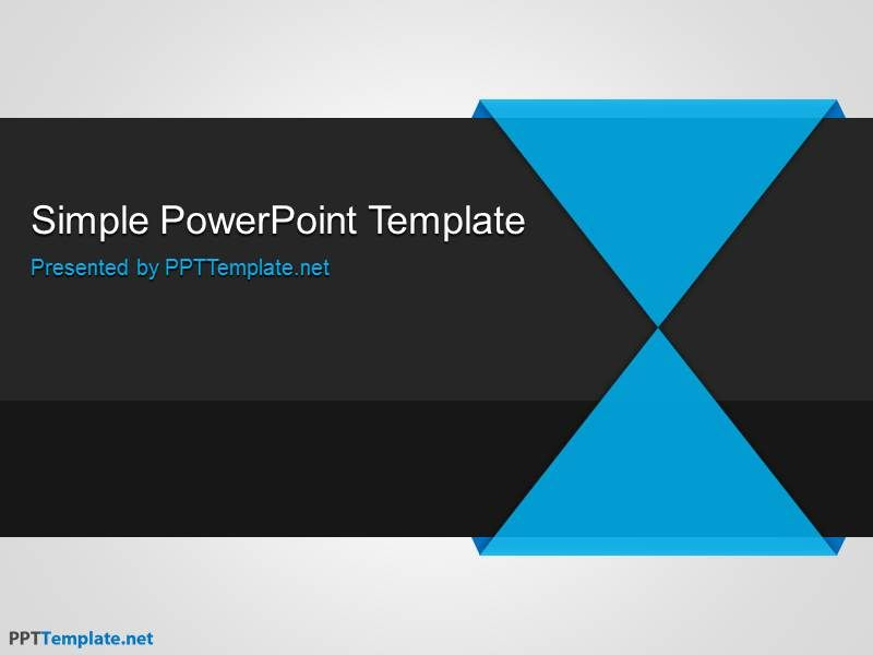 Plantilla simple ppt gratis fg pinterest ppt template simple a simple background that combines blue black and gray the free simple ppt template has a generic style useful for most powerpoint presentations mac and toneelgroepblik Choice Image