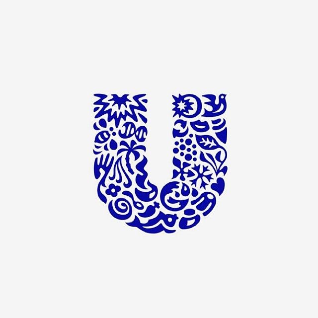 Unilever by Wolff Olins. Redisign 2004. #1930 #foods #beverages #unilever #wolffollins #sign #logo #identity #letters #typography #stamp #shape #dribbble #awesome #amazing #2013