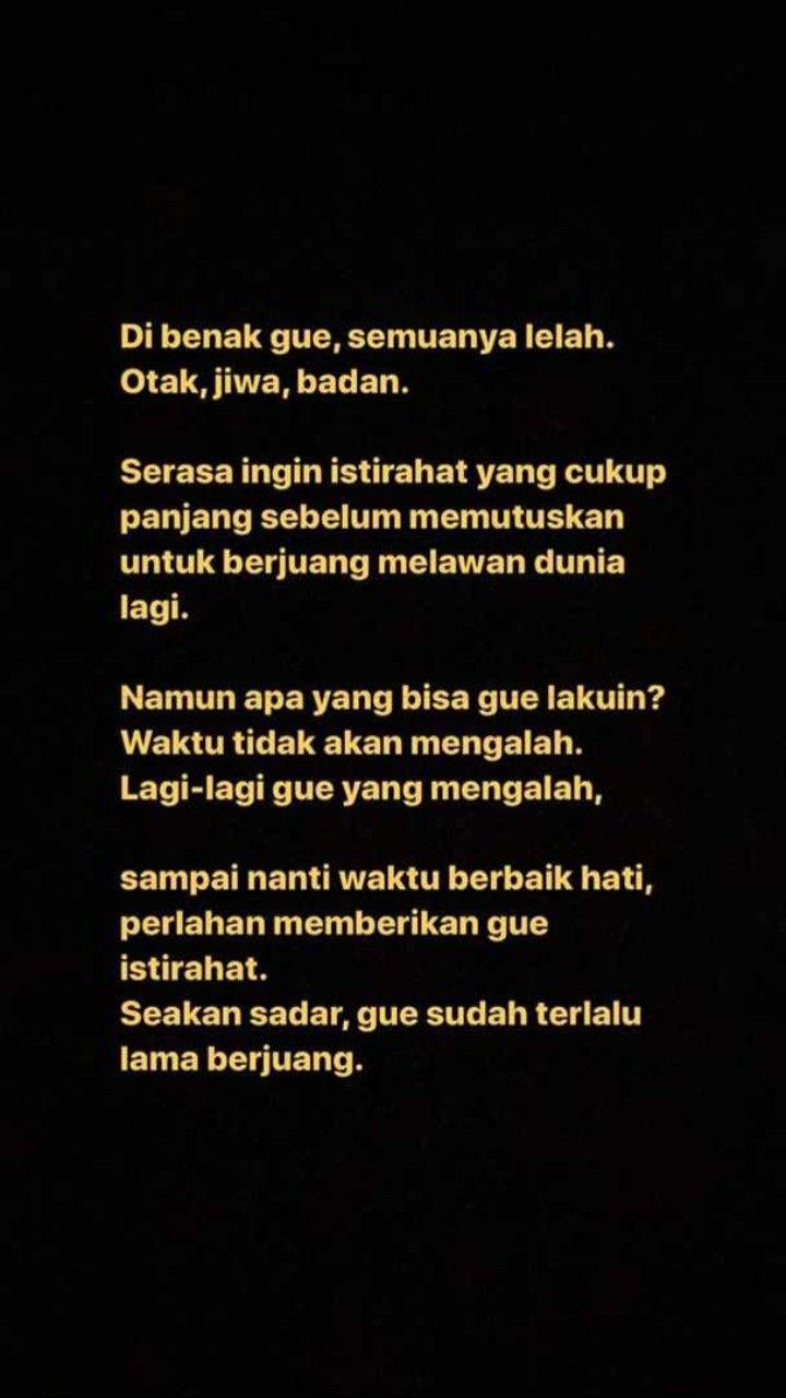 Pin Oleh Nazwa Aulia Nasution Di Quotes Indonesia Kata Kata Indah Kata Kata Motivasi Kutipan Motivasi