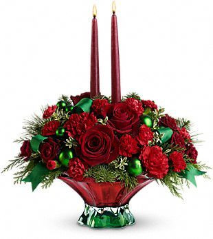 Christmas Centerpiece Sent To Cathy