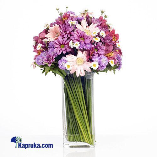 Purple Parade Purple Flower Arrangements Unique Flower Arrangements Unique Flowers
