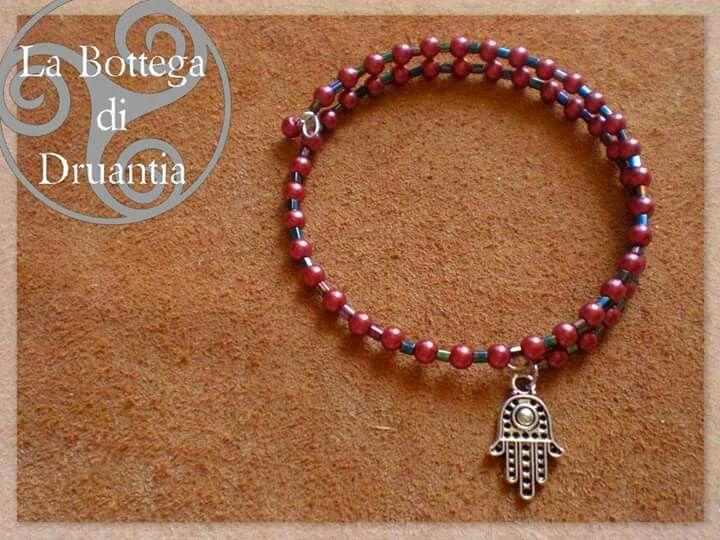 #handmade #creazionifatteamano #pearls #ethnic #fatimahand