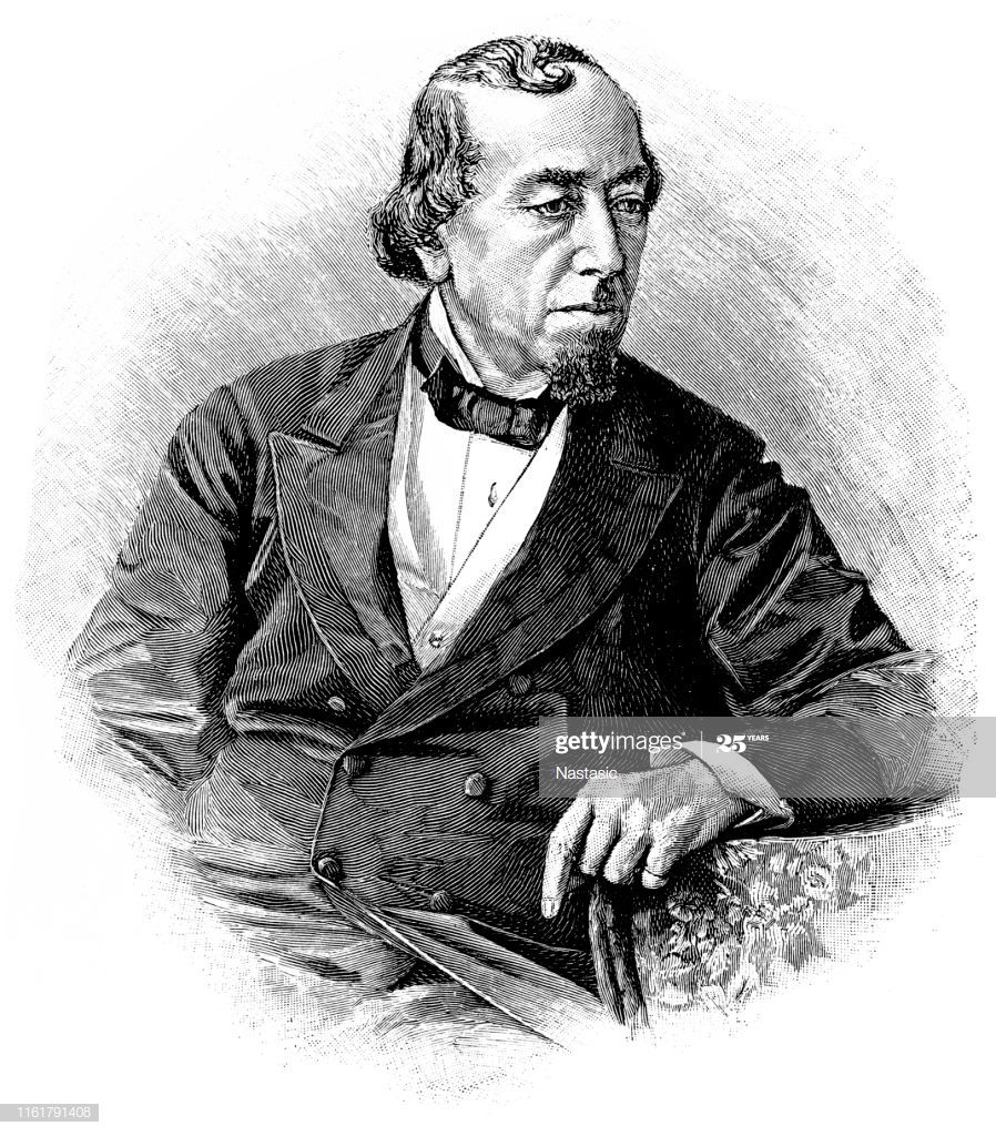 Illustration Of A Benjamin Disraeli Lord Beaconsfield 1st Earl Of Illustration Historical Figures Beaconsfield
