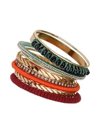 Armreifen im Set #bangle #women #covetme #missselfridge