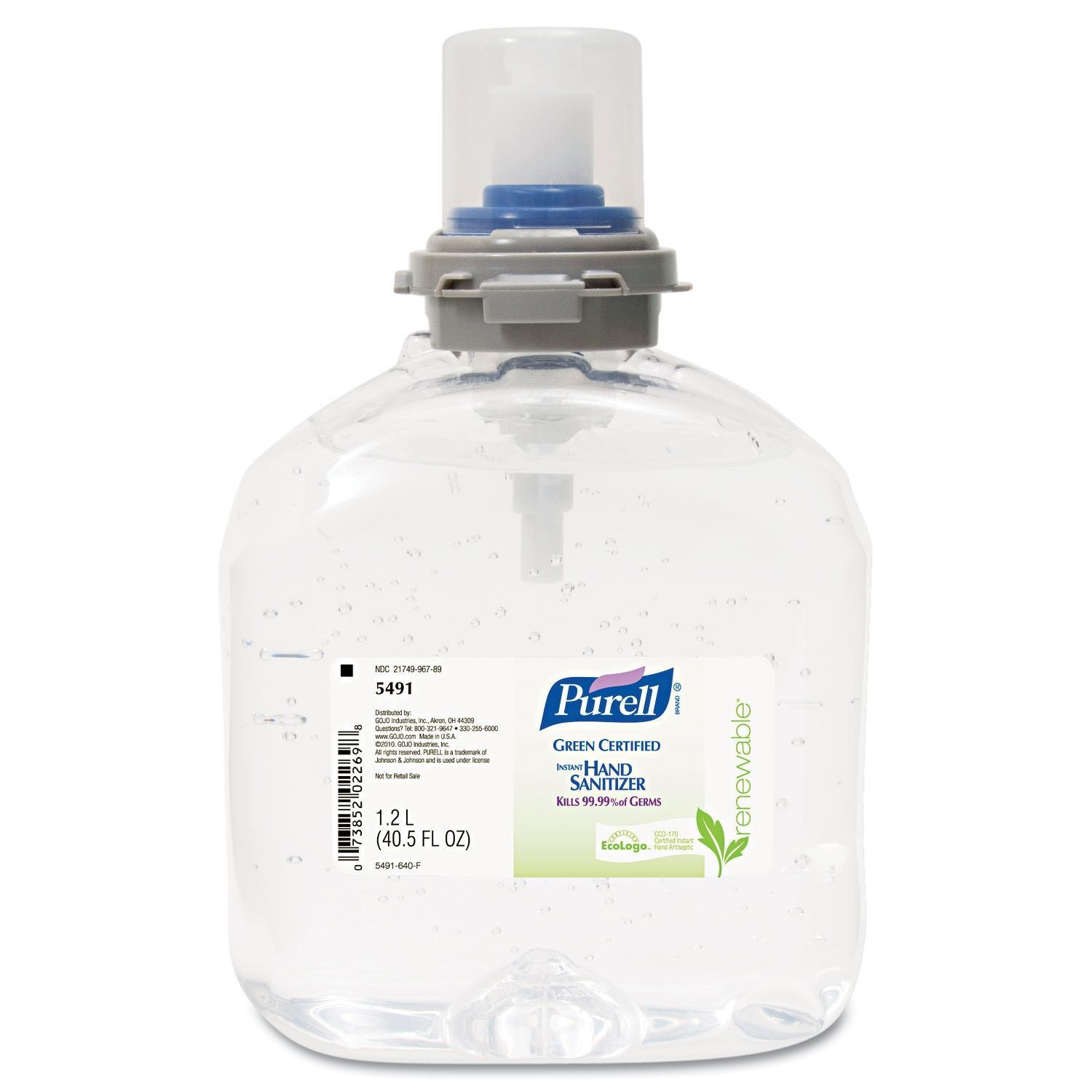 Purell Adx Advanced Green Certified Foam Instant Hand Sanitizer