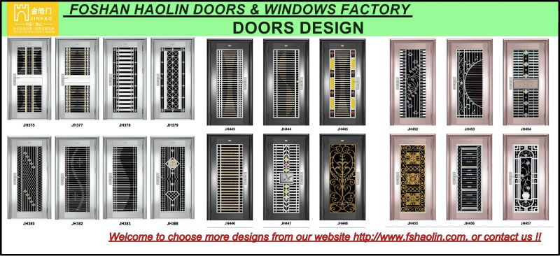 Stainless Steel Grill Doors Design JH516