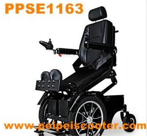 best quality luxury foldable standing electric wheelchair with