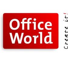 Bürobedarf logo  Office World Logo | Online Shop Logos Schweiz | Pinterest | Shop logo