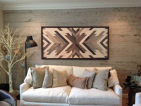 Reclaimed wood wall art, wood art, wood wall decor, barn wood decor
