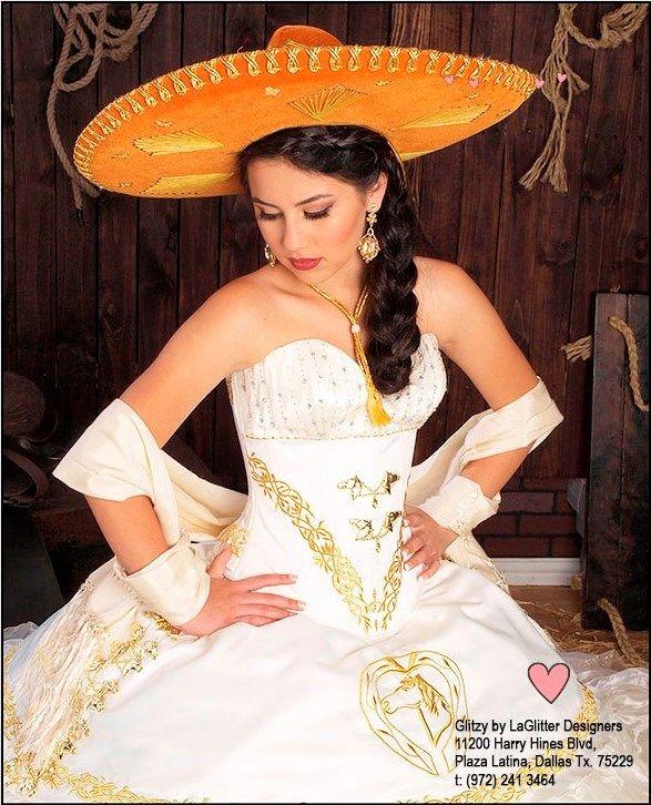 1f11ddcf Disenadores de Vestidos de Quinceaneras en Dallas, La Glitter Designers,  Coleccion Tipicos