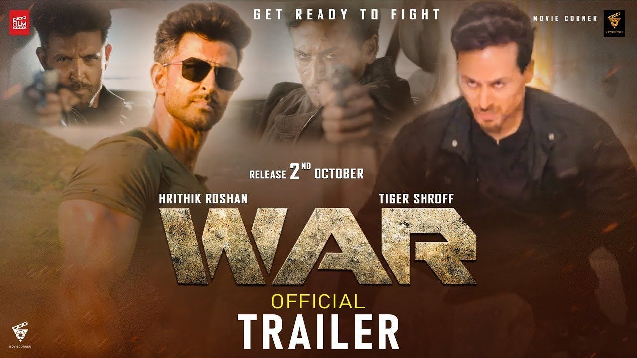 WAR Movie Trailer Hrithik Vs Tiger Movie Hrithik