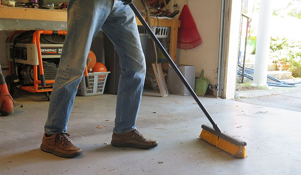 How to Clean Concrete Garage Floors From Oil Stains to