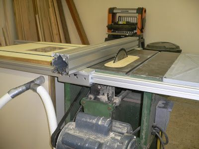Diy Table Saw Fence 1 Table Saw Fence By Hutch