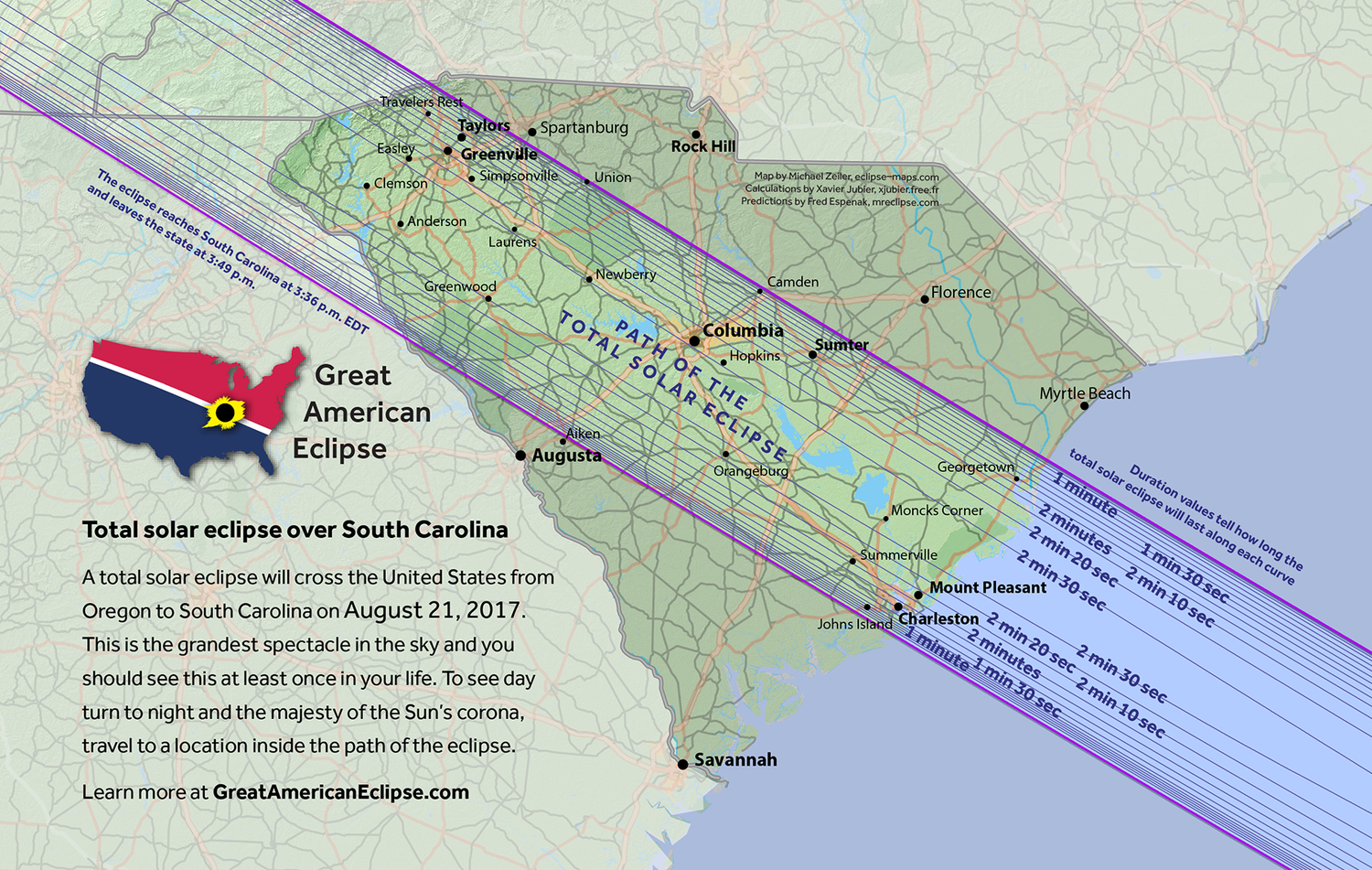August 21 2017 COOOOOL South Carolina Great American Eclipse