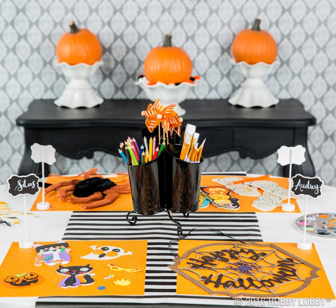 Change up your Halloween routine and have a fun craft night with the - Hobby Lobby Halloween Decorations