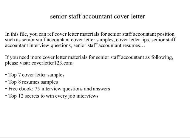 Free Download Staff accountant cover letter from here and