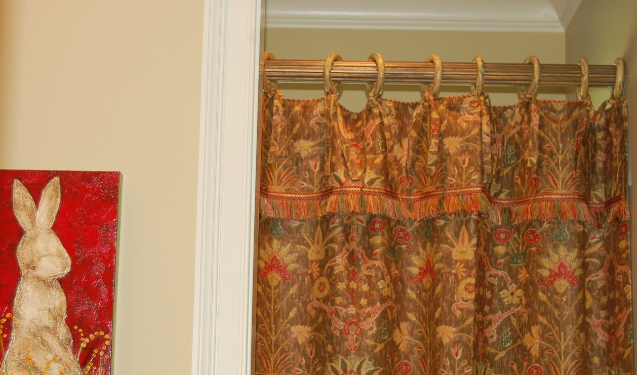 Simple bathroom curtain ideas - 1000 Images About Shower Curtains On Valances And Custom