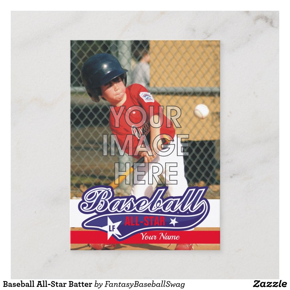 Baseball All Star Batter Custom Trading Cards Www Fansportsspot Com Baseball Card Displays Baseball Card Template Baseball Cards Storage