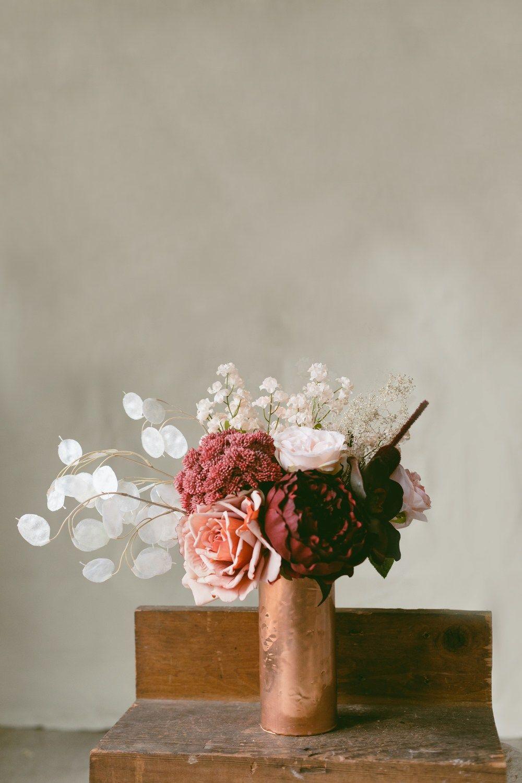 Diy Copper Wrap Vases Ruffled Flower Vase Diy Copper Diy Diy Vase