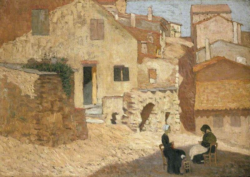 B Festa A.Maillol Village dans les Pyrénées 1895