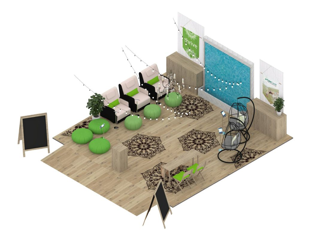 Trade Show Exhibit Booth 3d Rendering Services