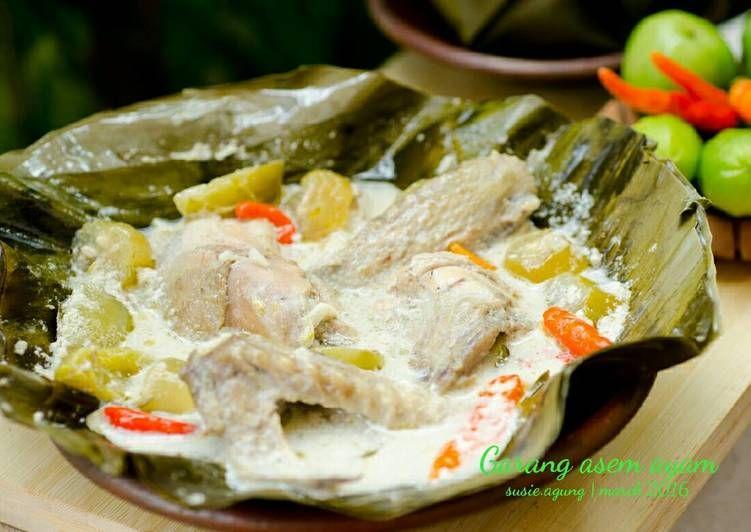 Resep Garang Asem Ayam Oleh Susi Agung Resep Resep Masakan Ayam Resep
