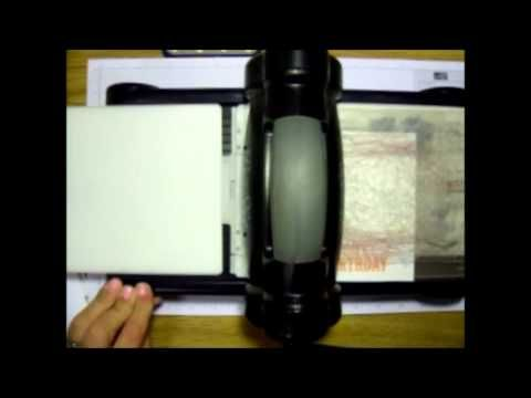 How To Partial Emboss Stampin Up Big Shot Embossing Folders Scrapbooking Techniques Card Making Tips Card Making Tutorials