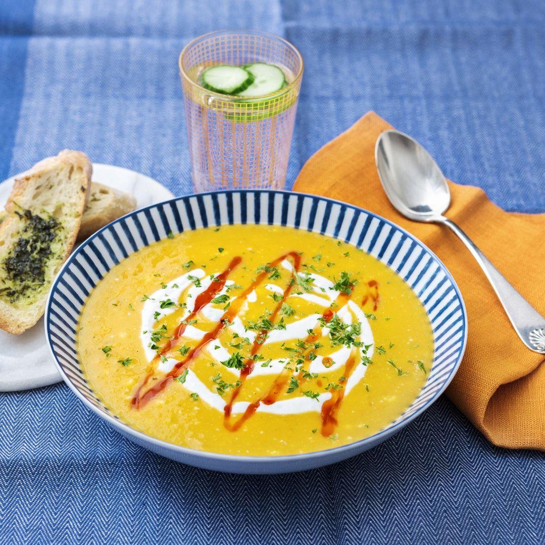 snabb soppa buljong recept