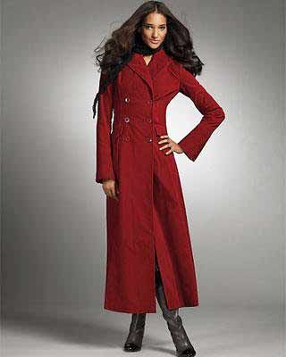 Images of Long Womens Winter Coats - Reikian