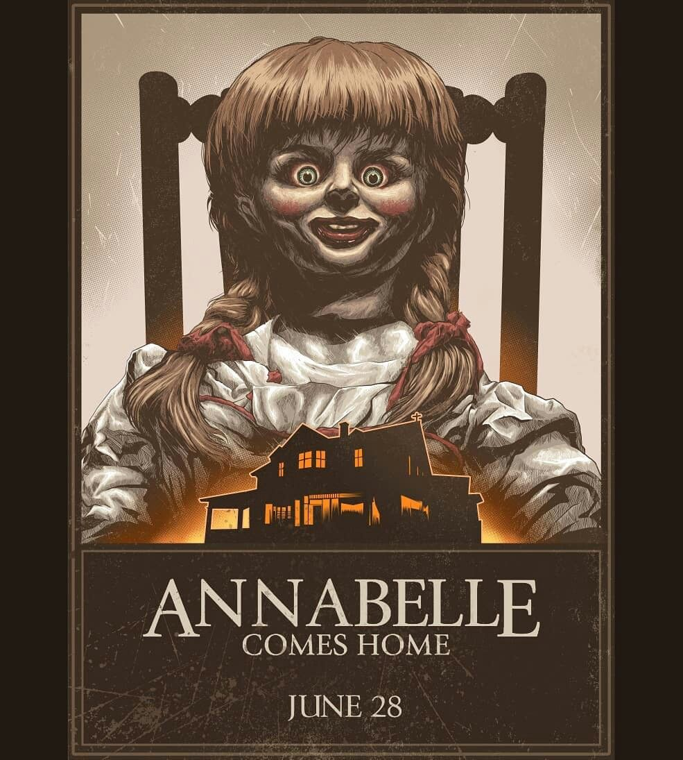 Pin by the slasher on the conjuring universe horror