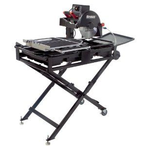 Qep 61024 24 Inch Brutus Professional Tile Saw With Water Pump And Folding Stand Tile Saw Jet Woodworking Tools Woodworking Saws
