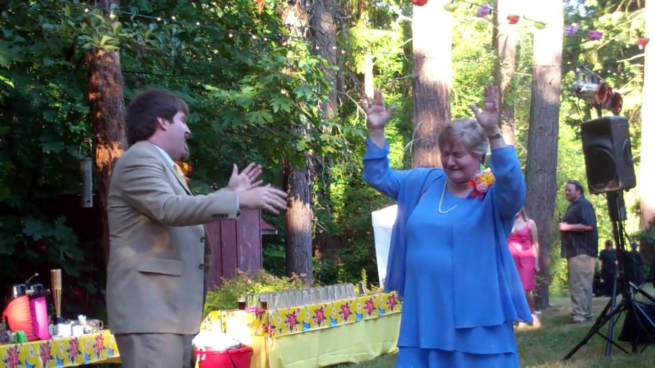 The Last Minute Mother-Son Wedding Dance You Dont Want To