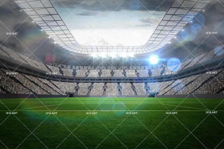 3d Soccer Football Stadium Wall Mural Wallpaper 14 In 2020 With