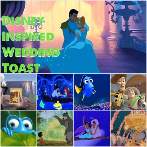 A Maid Of Honor Wedding Toast Sure To Please Any Bride That Is Disney Fan Sample Includes 13 References And Quotes From Movies