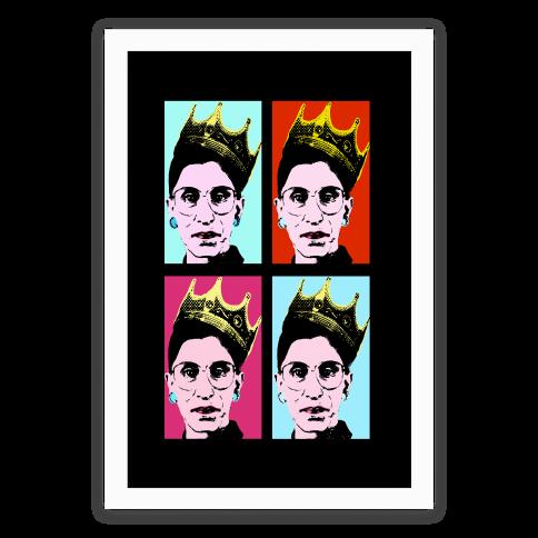 Rbg Pop Art Posters Lookhuman Pop Art Posters Pop Art Canvas Pop Art Print